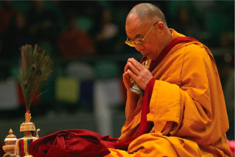 Sua Santità il Dalai Lama: E' il guru che vi trasmette questo ininterrotto lignaggio.