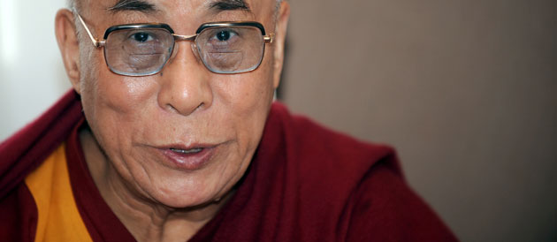 His Holiness the Dalai Lama: All sentient beings, not just humans, love affection and kindness. A compassionate mind eliminates fear, anger and jealousy.