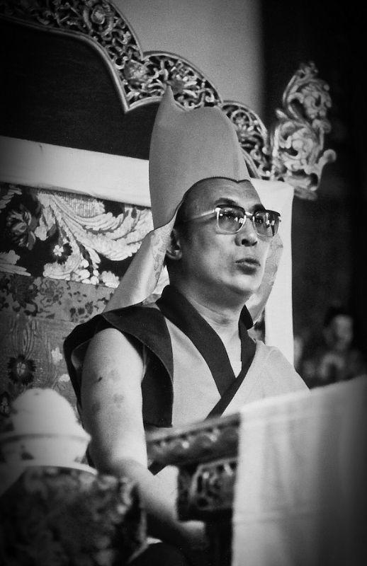 "His Holiness the Dalai Lama: As Ku Tung says, ""Twenty years are spent without a thought for Dharma and twenty are spent saying, 'I will practice,' and ten more are spent saying, 'I'm not able to practice Dharma.' and that is the story of an empty life."""