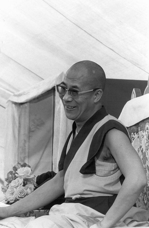 His Holiness the Dalai Lama: The merit we accumulate from these practices should then not be dedicated to our own well-being, freedom from samsara, existence in higher realms and so on, but solely to the attainment of buddhahood in order to relieve the suffering of others. We must also have the wisdom to see the void of the existence of the triad. This constitutes the 37th practice.
