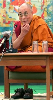 His Holiness the Dalai Lama: It is important to dedicate our merit in this manner and to reinforce or complement it by remembering emptiness as well.