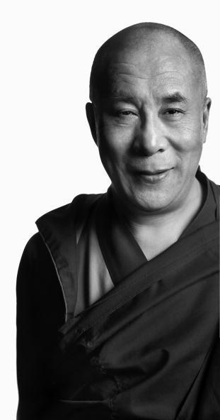 "His Holiness the Dalai Lama: Make this firm resolution: ""As a Dharma practitioner, from now on, I must work for the benefit of all sentient beings. I will attain buddhahood for their sake, to liberate them from suffering and lead them to enlightenment,"""