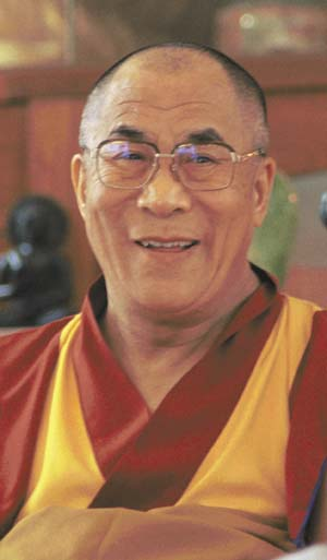 "His Holiness the Dalai Lama: There is a Tibetan saying, ""If there's one good thing about negativities, it's that they can be purified."""
