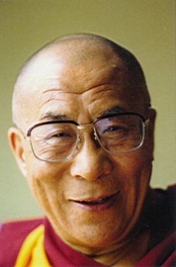 His Holiness the Dalai Lama: practice must be based upon meditation on bodhicitta and emptiness.