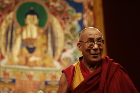 His Holiness the Dalai Lama: Greatest happiness? Many occasions. One I remember, the next day of my escape from Tibet.