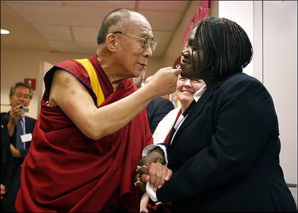 "His Holiness the Dalai Lama: ""The practice of compassion is of immense benefit."""