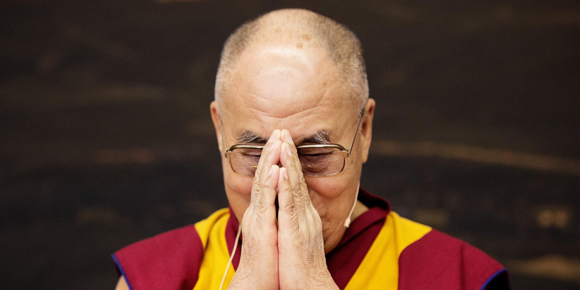 Sua Santità il Dalai Lama: L'esistenza, costituita e causata da karma ed illusioni, è esistenza non illuminata e rappresenta la sofferenza del condizionamento.