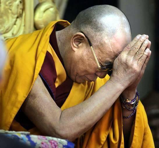 Sua Santità il XIV Dalai Lama: Come esseri umani dobbiamo sforzarci di trovare approcci per beneficare i sette miliardi di individui su questo mondo.