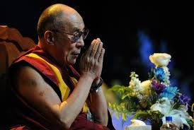 His Holiness the Dalai Lama: Aryadeva says that, at first, one must avert all the de-meritorious activities, and then in the middle, one must cease grasping at self, and finally one must cease grasping at all views, false views.