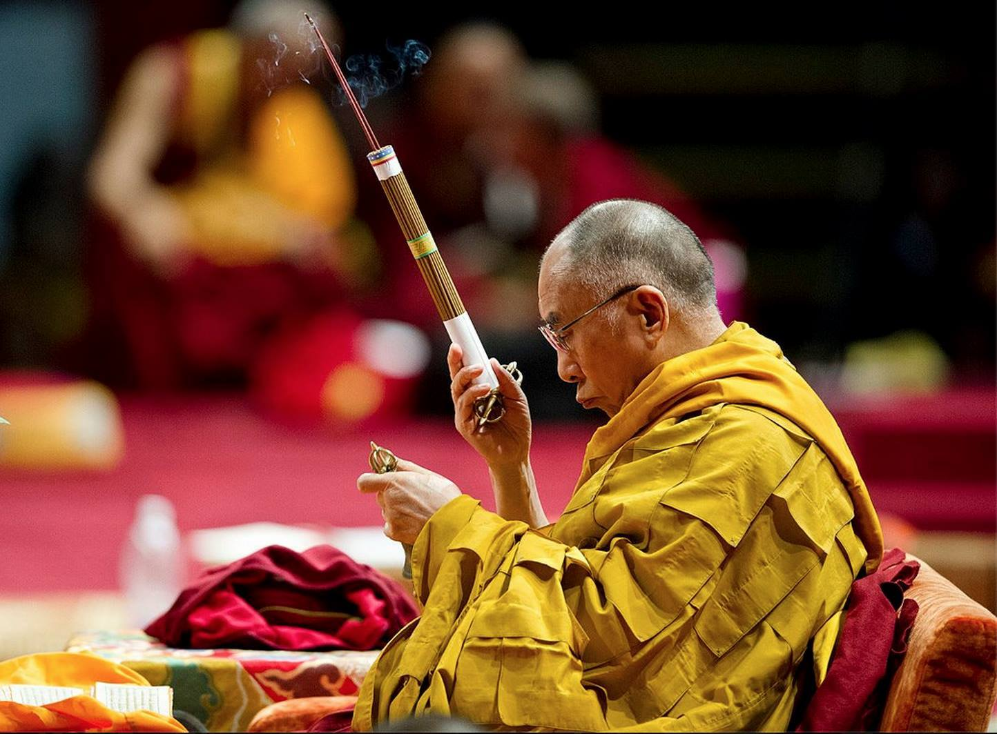 "His Holiness the Dalai Lama: Asanga says that: ""An affliction is defined as a phenomenon that, when it arises, is disturbing in character and that, through arising, disturbs the mind-stream."""