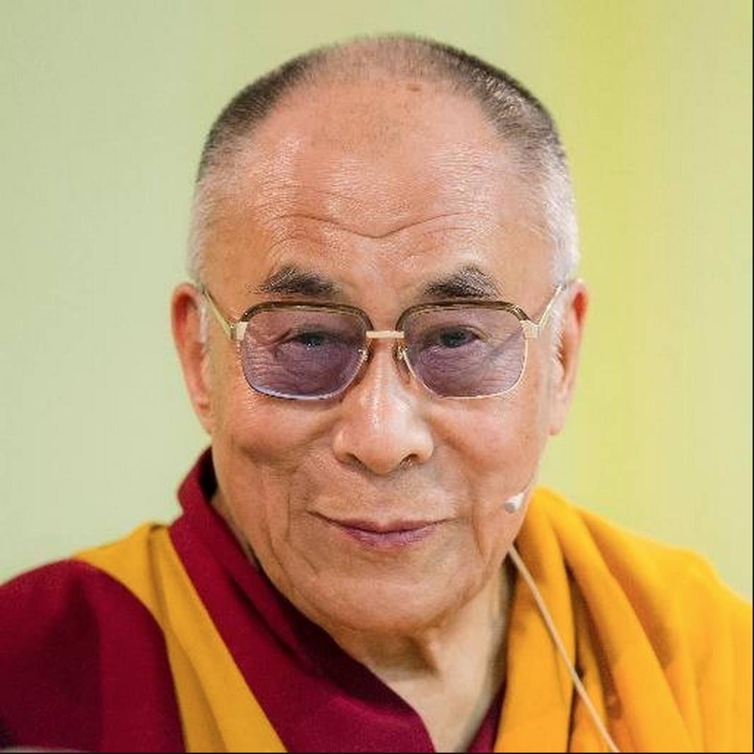 """His Holiness the Dalai Lama: Nagarjuna'sPrecious Garland says that: """"The person is neither the earth element nor the water element"""" and so on."""